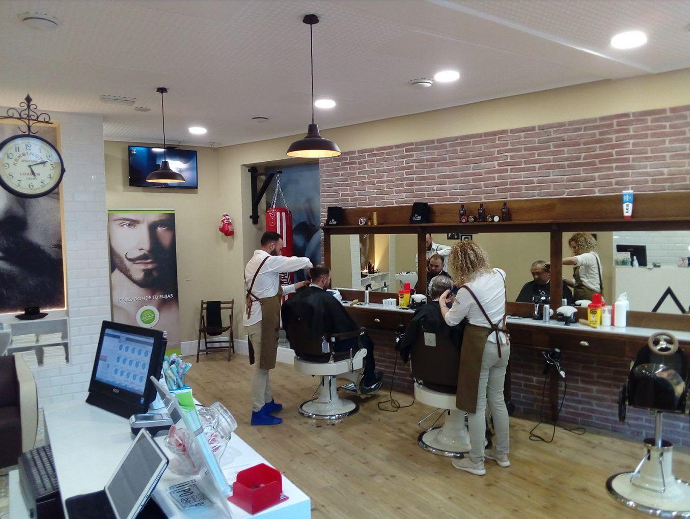 Barbería en Zona Monumental